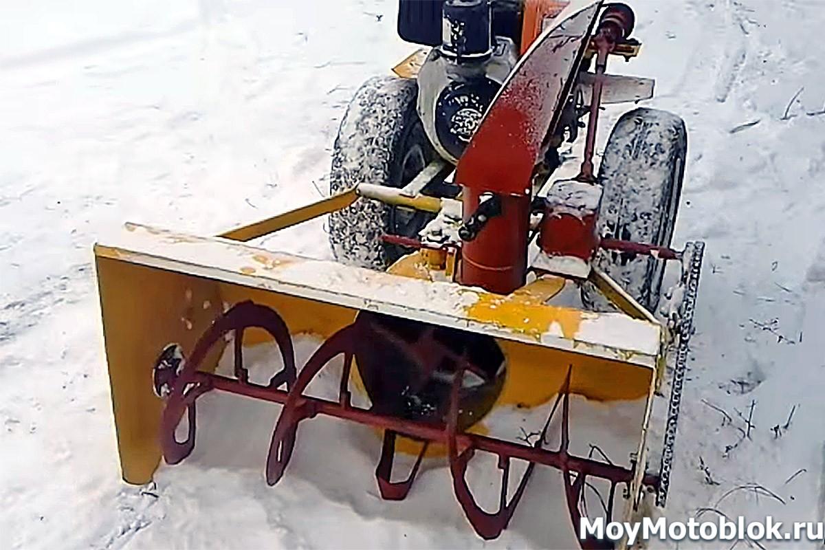 Снегоходная приставка к мотоблоку своими руками чертежи фото 664