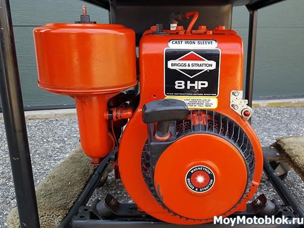 Двигатель Briggs & Stratton I/C 195400 оранжевый