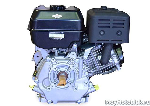 Двигатель Briggs & Stratton I/C 10.0: вид сзади