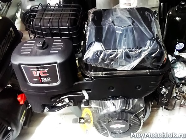 Двигатель Briggs & Stratton I/C 10.0 черный
