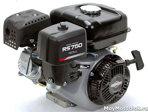 Двигатель Briggs&Stratton RS 750 на 5 л.с.