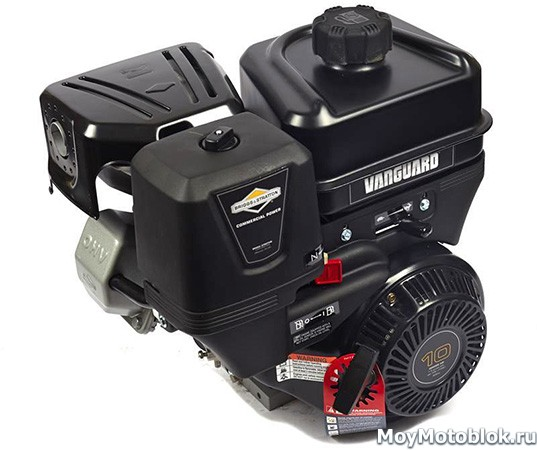 Двигатель Briggs & Stratton Vanguard 10.0 на мотоблок