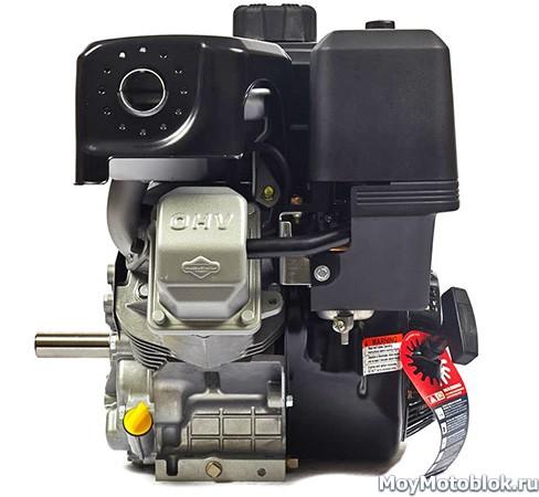 Двигатель Briggs&Stratton Vanguard 10.0 сбоку