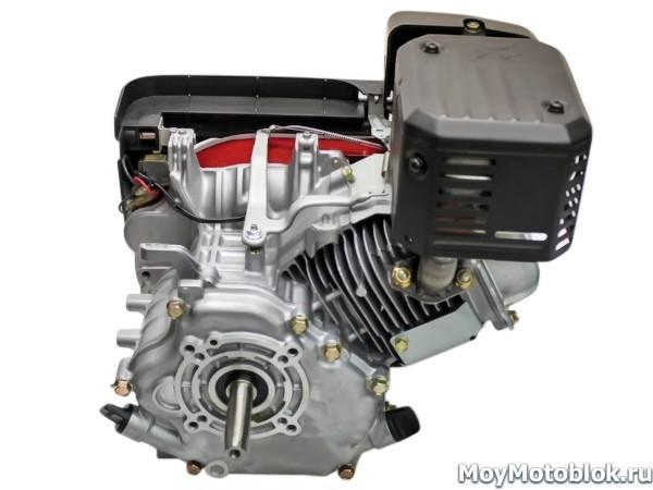 Двигатель Briggs & Stratton Vanguard 5.5: вид сзади