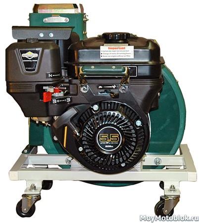 Двигатель Briggs & Stratton Vanguard 5.5 на садовом пылесосе