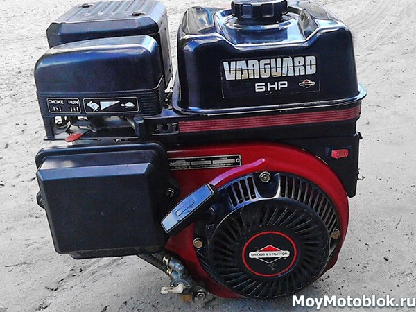Briggs & Stratton Vanguard 6.0 на мотоблок