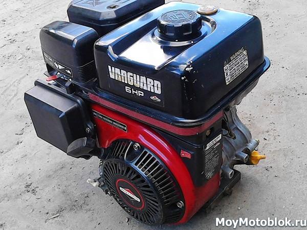 Двигатель Briggs & Stratton Vanguard 6.0 старого образца
