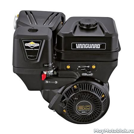 Двигатель Briggs & Stratton Vanguard 8.0 на мотоблок