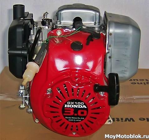 Двигатель Honda GX-100: разновидность модели