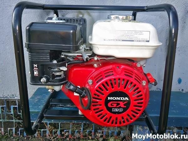 Двигатели Honda GX-120 на генераторе