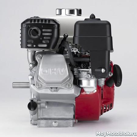 Двигатель Хонда GX-120 сбоку