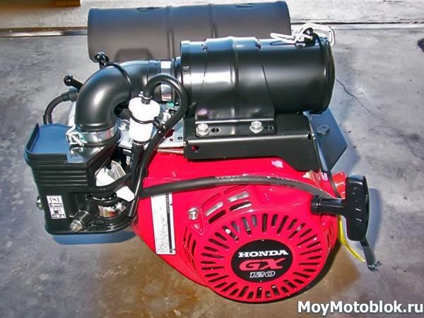 Мотор Honda GX120 мощностью 3.5 л.с.