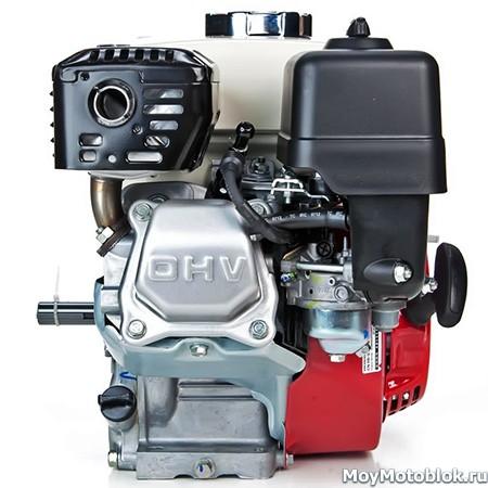 Honda GX160: расположение сбоку