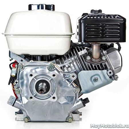 Двигатель Honda GX160 сзади