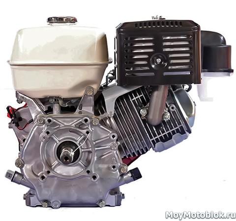 Двигатель Honda GX390 сзади