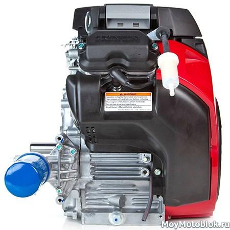 Honda GX630: расположение сбоку