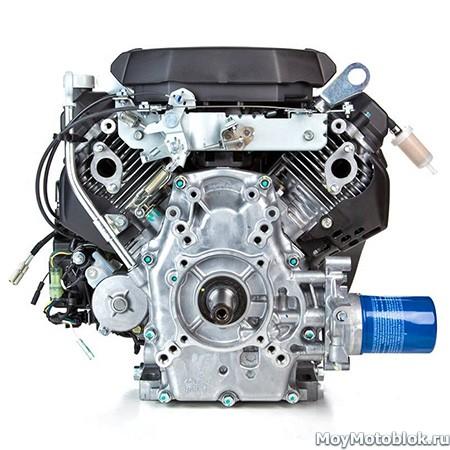 Двигатель Honda GX-630 сзади