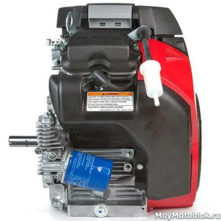 Мотор Honda GX690: расположение сбоку