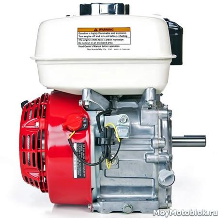 Двигатель Хонда GX-200 сбоку