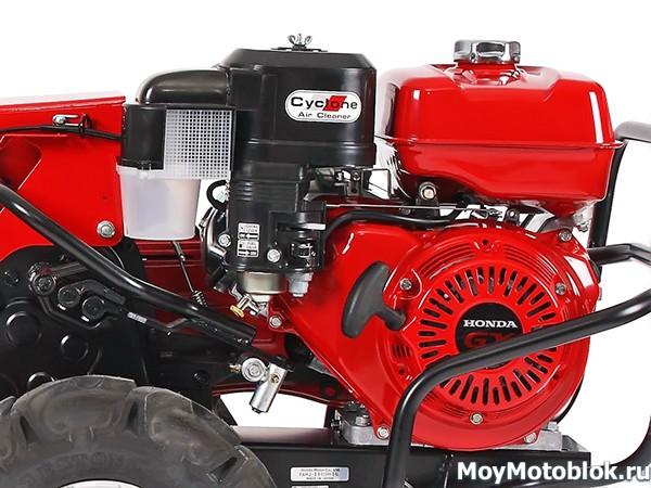 Двигатель Honda GX 240 на мотоблоке