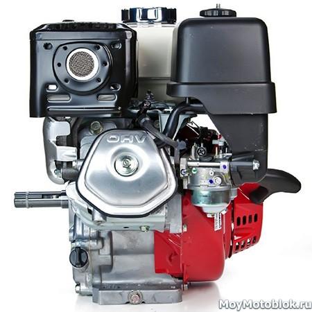Двигатель Хонда GX-240 сбоку