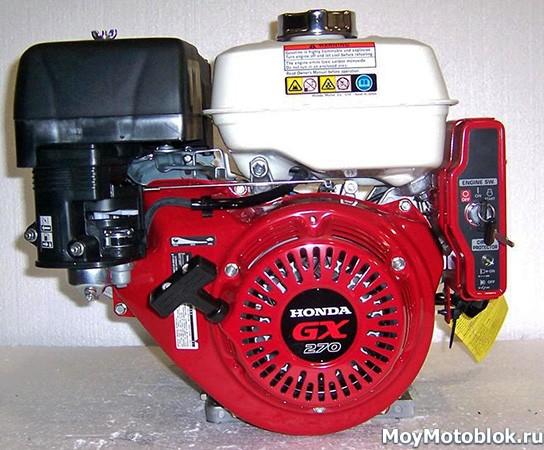 Мотор Honda GX270 на мотоблок