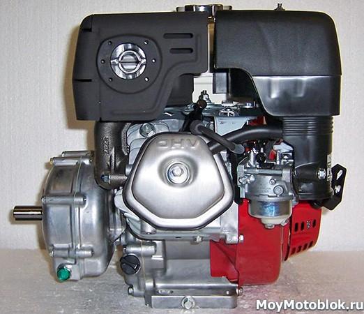 Honda GX270: расположение сбоку