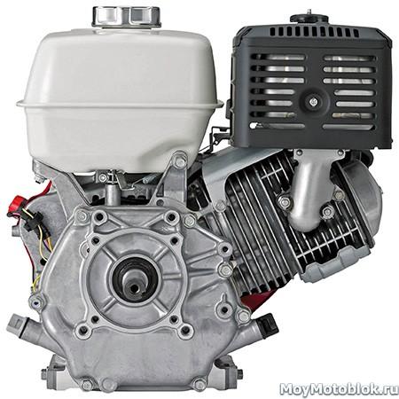 Двигатель Honda GX340: вид сзади