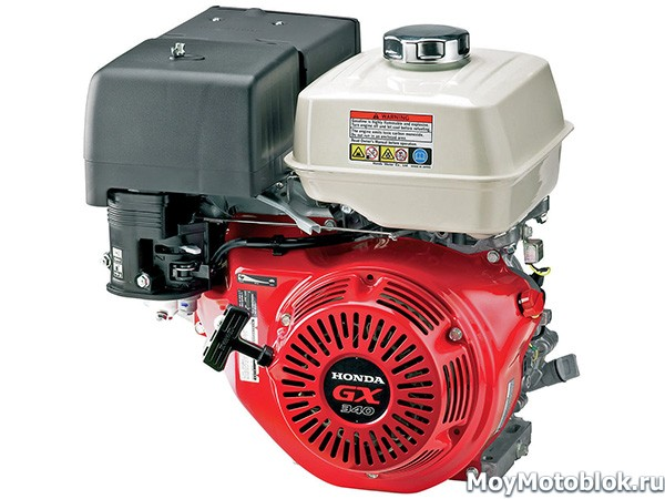 Мотор Хонда GX340 мощностью 9.5 л.с.
