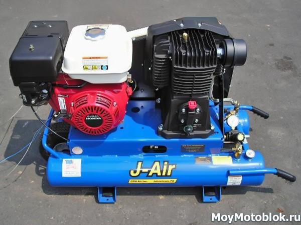 Мотор Honda GX340 на воздушном компрессоре