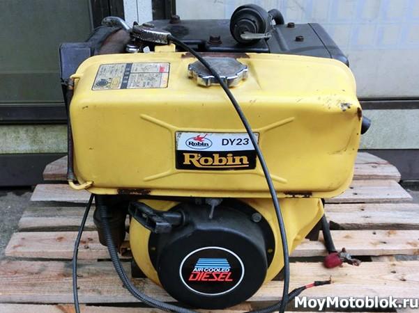 Robin Subaru DY23-2B: разновидность модели
