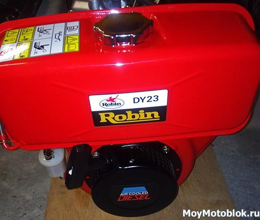 Двигатель Robin Subaru DY23D для мотоблоков