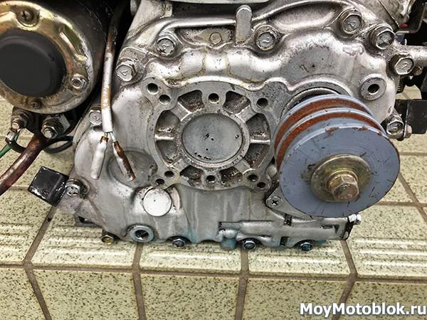 Мотор Robin Subaru DY27B: вал