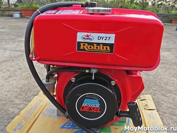 Двигатель Robin Subaru DY27-2D 5.5 л. с.