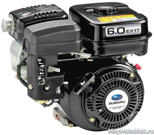 Двигатель Robin Subaru EX17D 6.0 л. с.