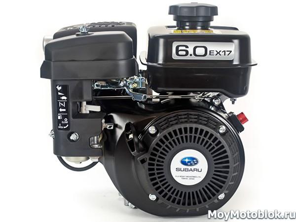 Двигатель Robin Subaru EX17D на мотоблок