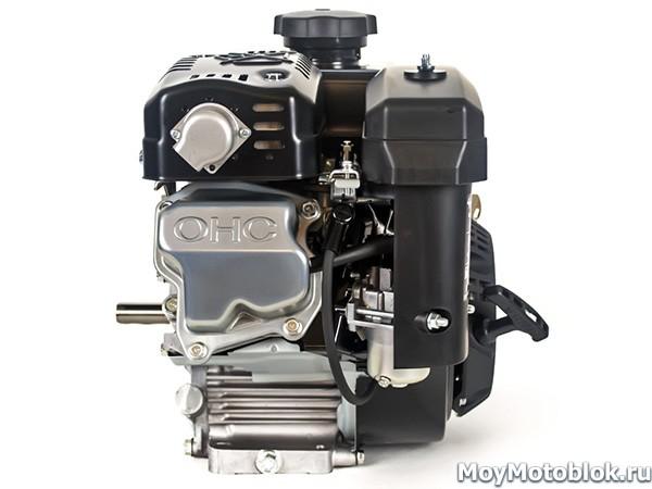 Мотор Subaru Robin EX21 Premium черный сбоку