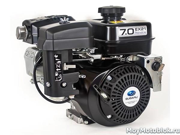 Двигатель Subaru Robin EX-21 Premium черный