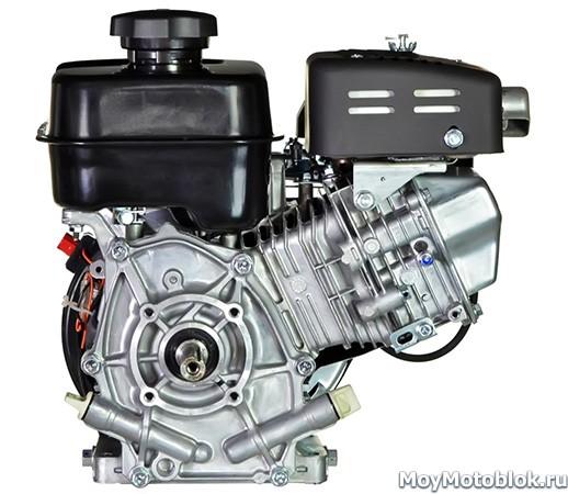 Мотор Robin Subaru EX21 сзади