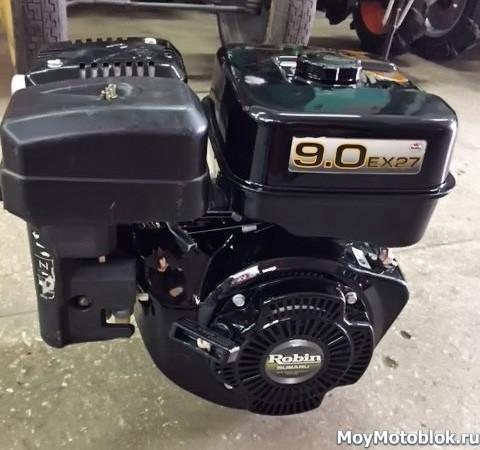 Двигатель Robin Subaru EX27D на мотоблок