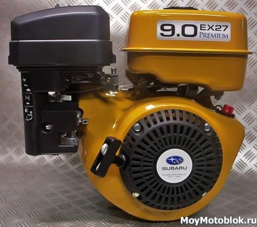 Двигатель Robin Subaru EX-27 9.0 л. с.