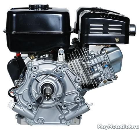 Двигатель Robin Subaru EX27D сзади