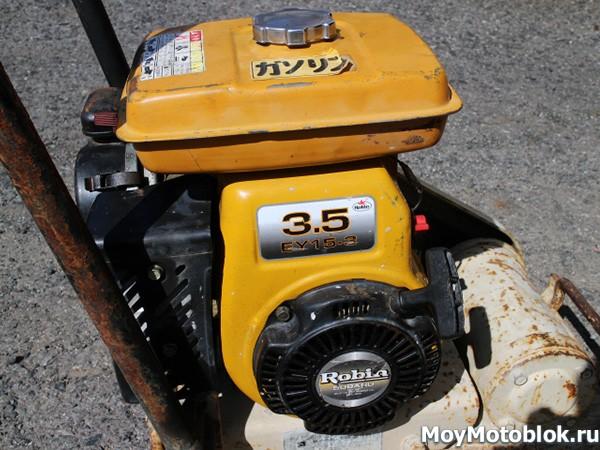 Двигатель Robin Subaru EY15 3.5 л. с.