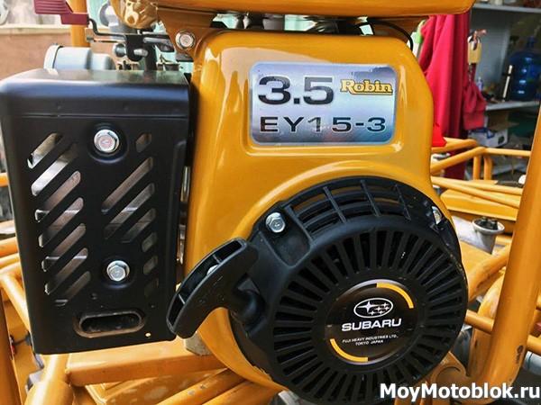 Двигатель Robin Subaru EY15D на мотоблок