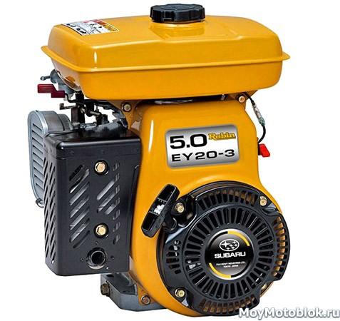 Двигатели Robin Subaru EY20-3D (EY20)