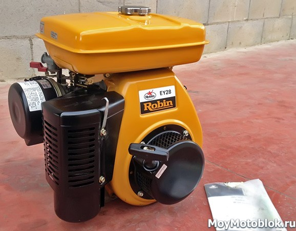 Двигатель Robin Subaru EY28 7.5 л. с.