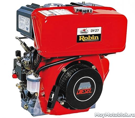 Двигатель Robin Subaru DY27-2B (DY27B) на мотоблоки