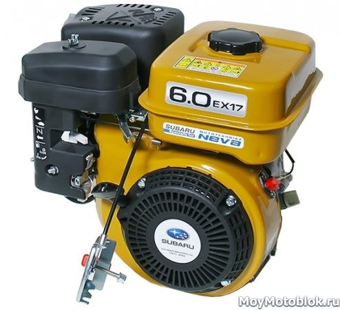 Двигатель Robin Subaru EX17 (EX17D) 6.0 для мотоблоков
