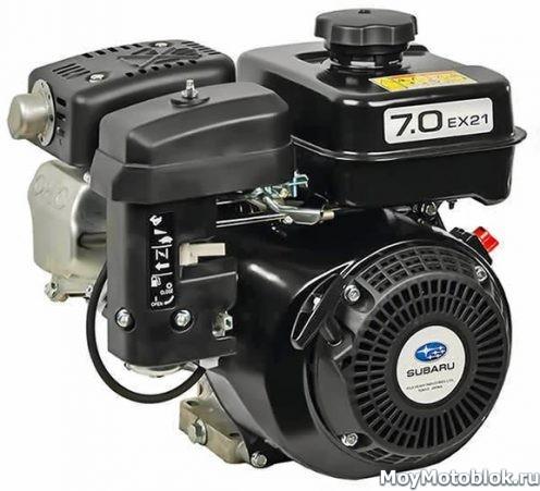 Двигатель Robin Subaru EX21 (EX21D) для мотоблоков