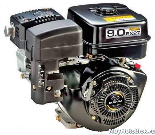Двигатель Robin Subaru EX27 (EX-27) для мотоблоков